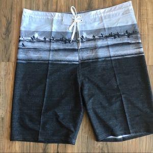 NWT Old Navy Men's Board Shirt Swim Trunks